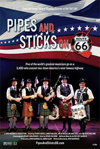 pipes and sticks route 66